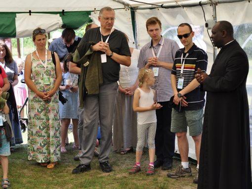 Konferencja i modlitwa z gośćmi z Afryki.