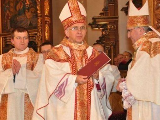 Kazanie Abp Depo w czasie Mszy świętej ingresowej.