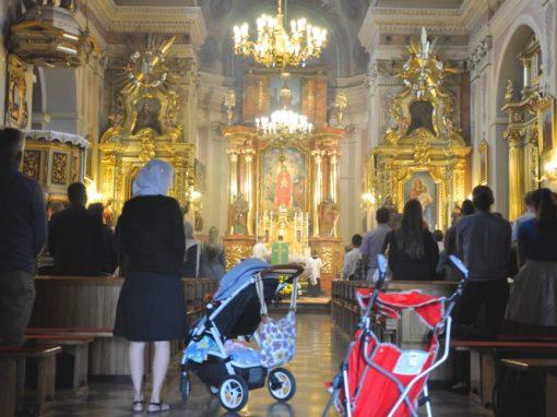 10. edycję Tradicamp rozpoczeliśmy w kościele we Włodowicach.